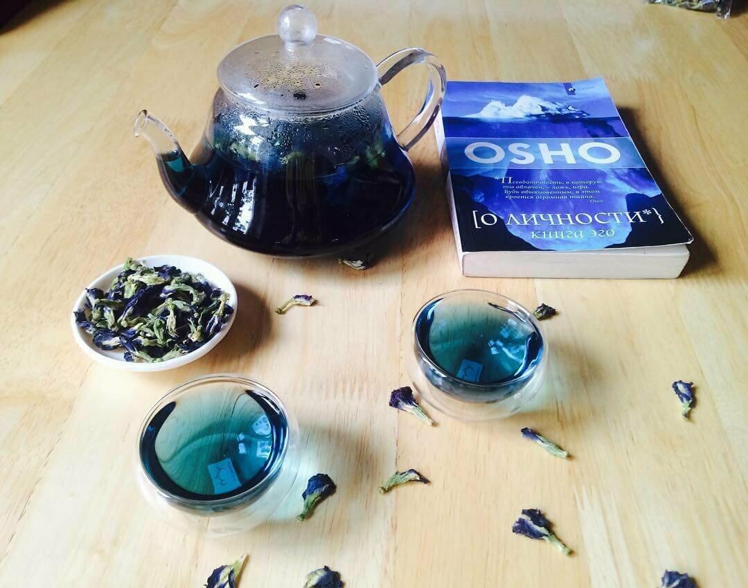 Пурпурный чай Чанг-Шу в Екатеринбурге