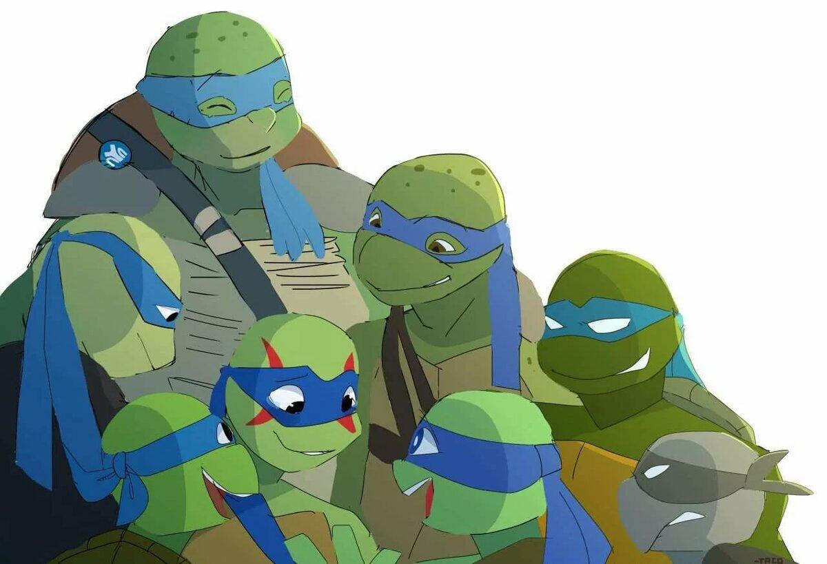 Картинки аниме черепашки ниндзя лео