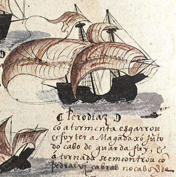 10 августа 1500 года Диогу Диаш открыл остров Мадагаскар