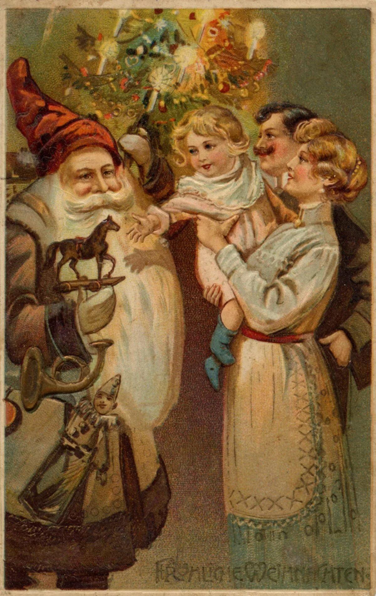 Дореволюционные новогодние открытки картинки, про хоккей