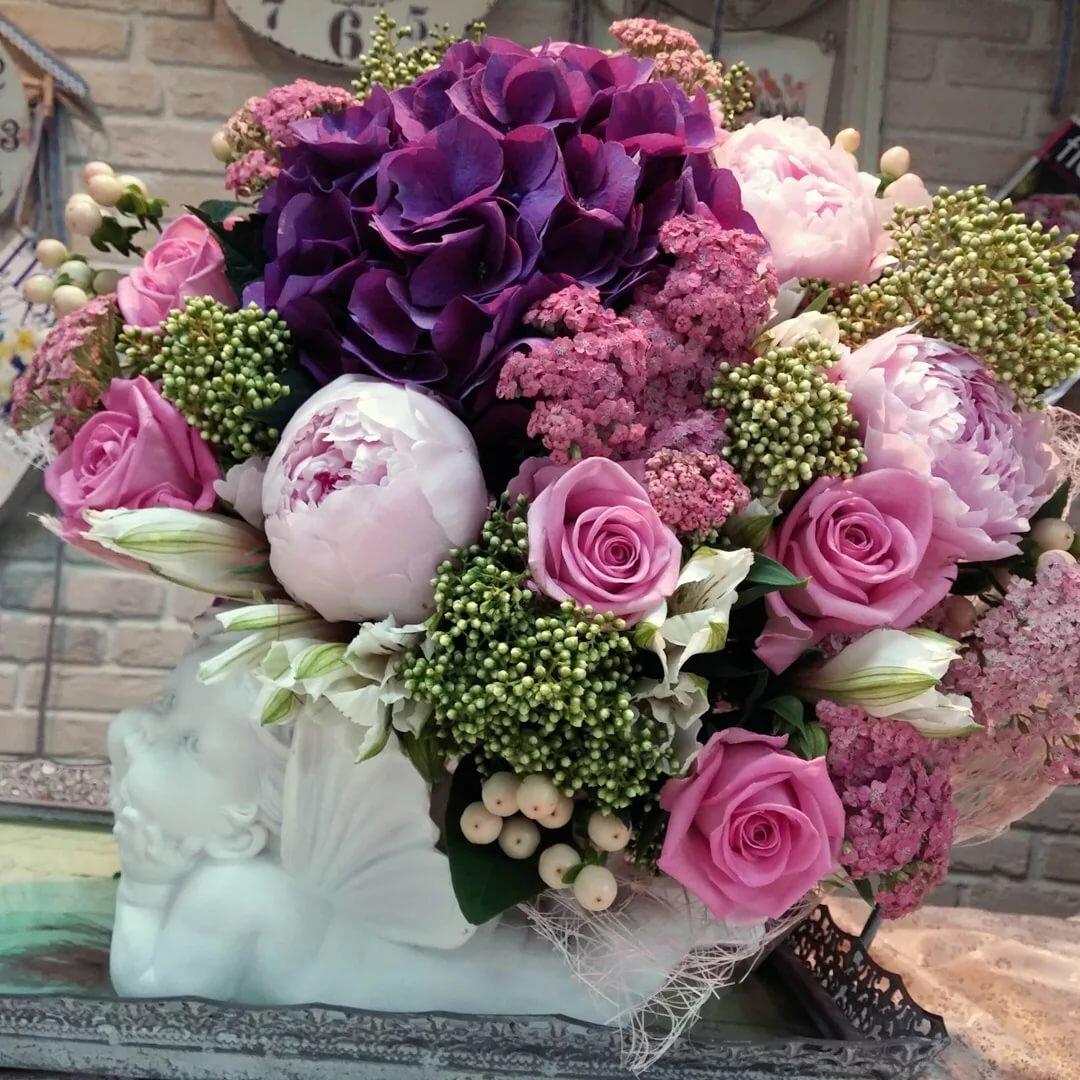 букеты цветов фото красивые креативные