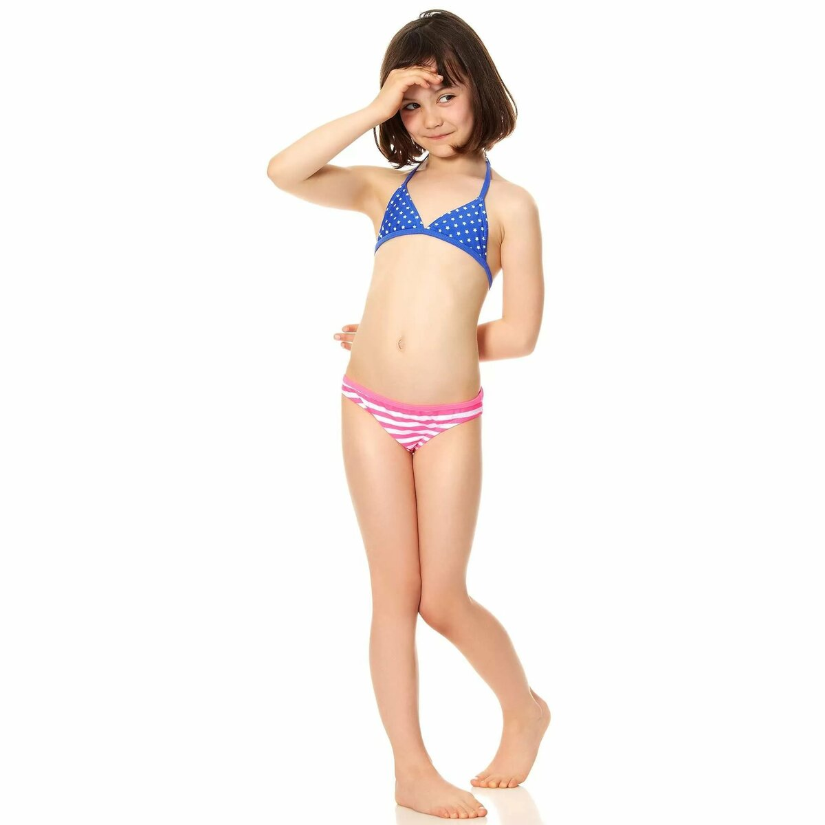 Models in bikini underwear