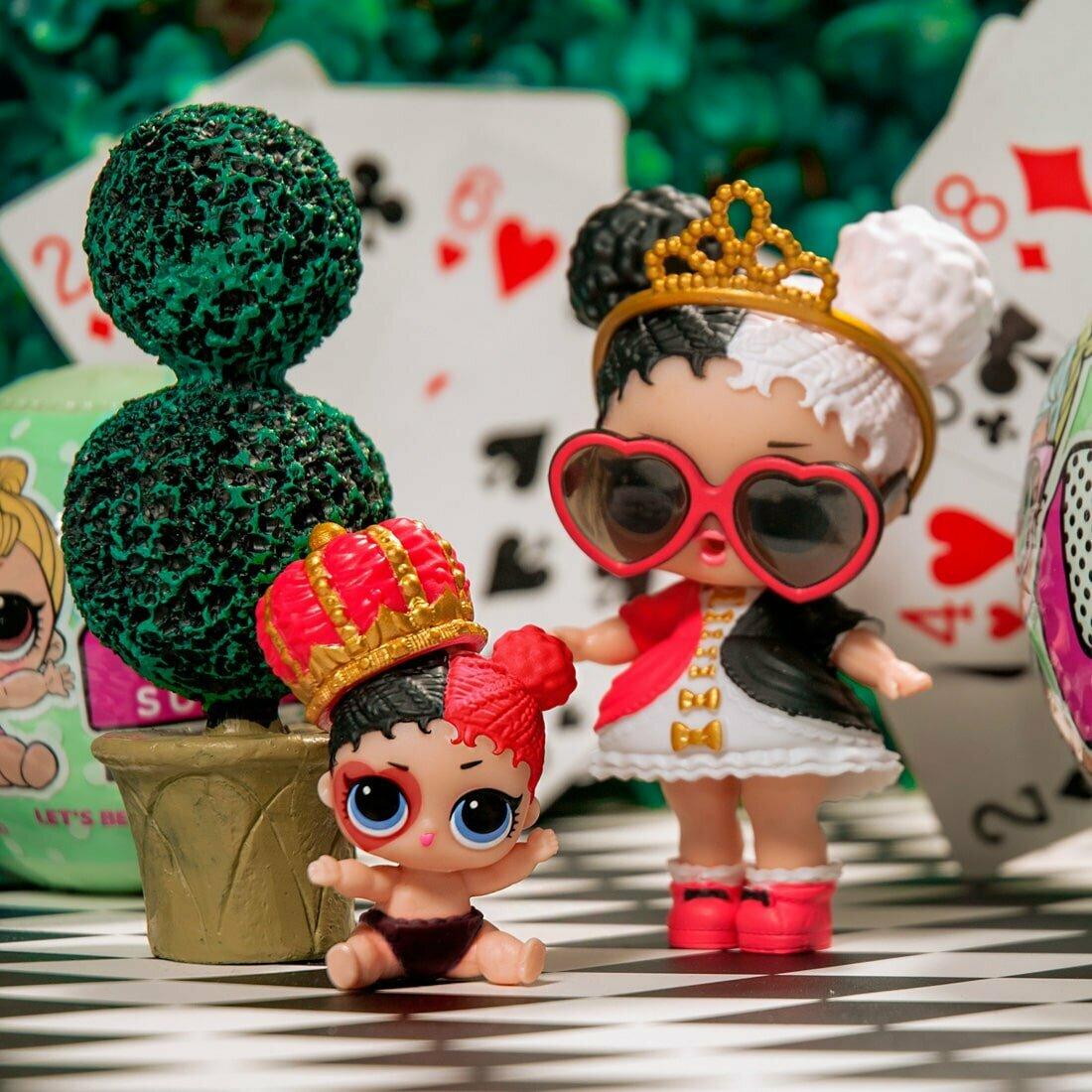 Открытка, картинки коллекция куклы лол