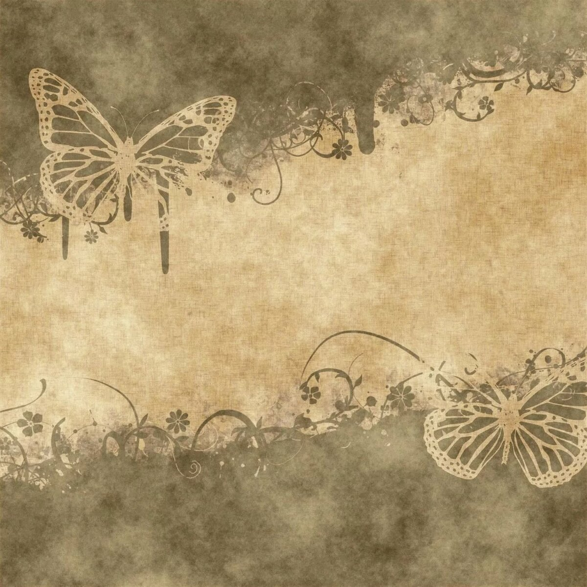 Текстуры старых открыток