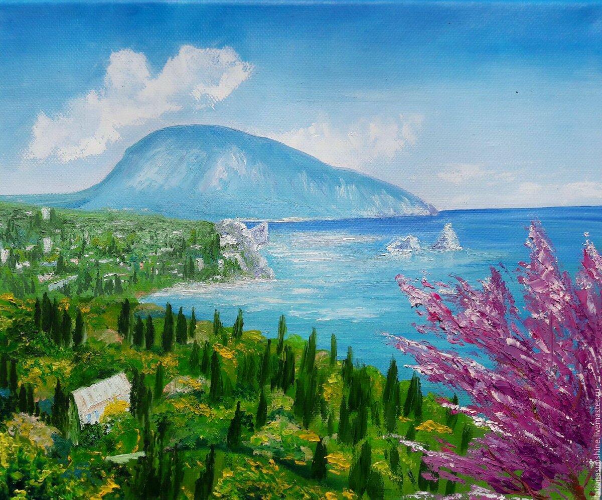 открытки крымские пейзажи куртки весна можно