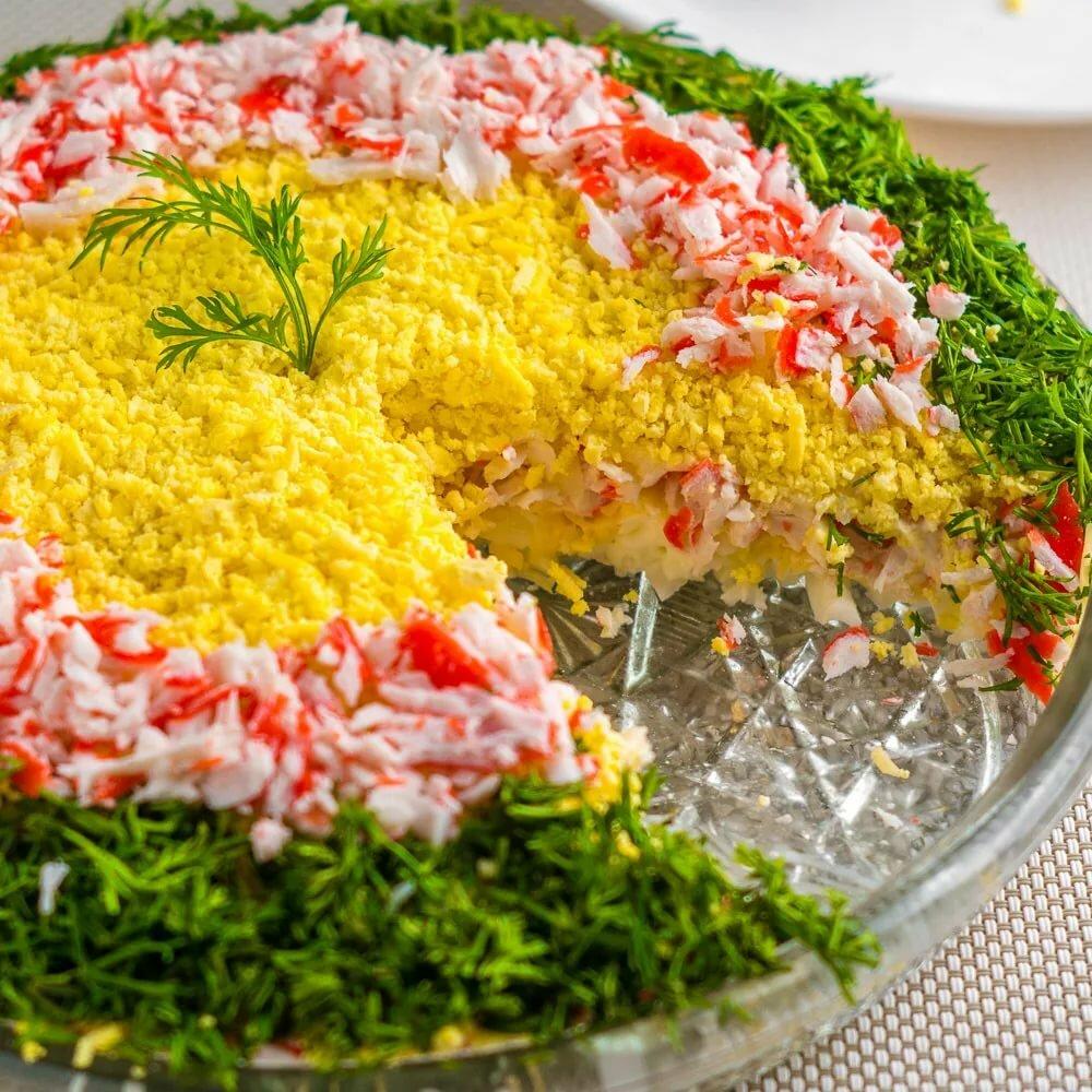 праздничные салаты с рецептами в картинках лучшие