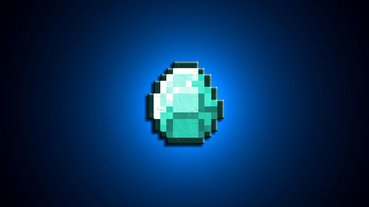 картинки алмазов для майнкрафт защита