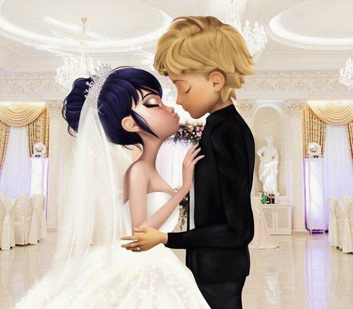 картинки эдриан и маринет на свадьбе вам