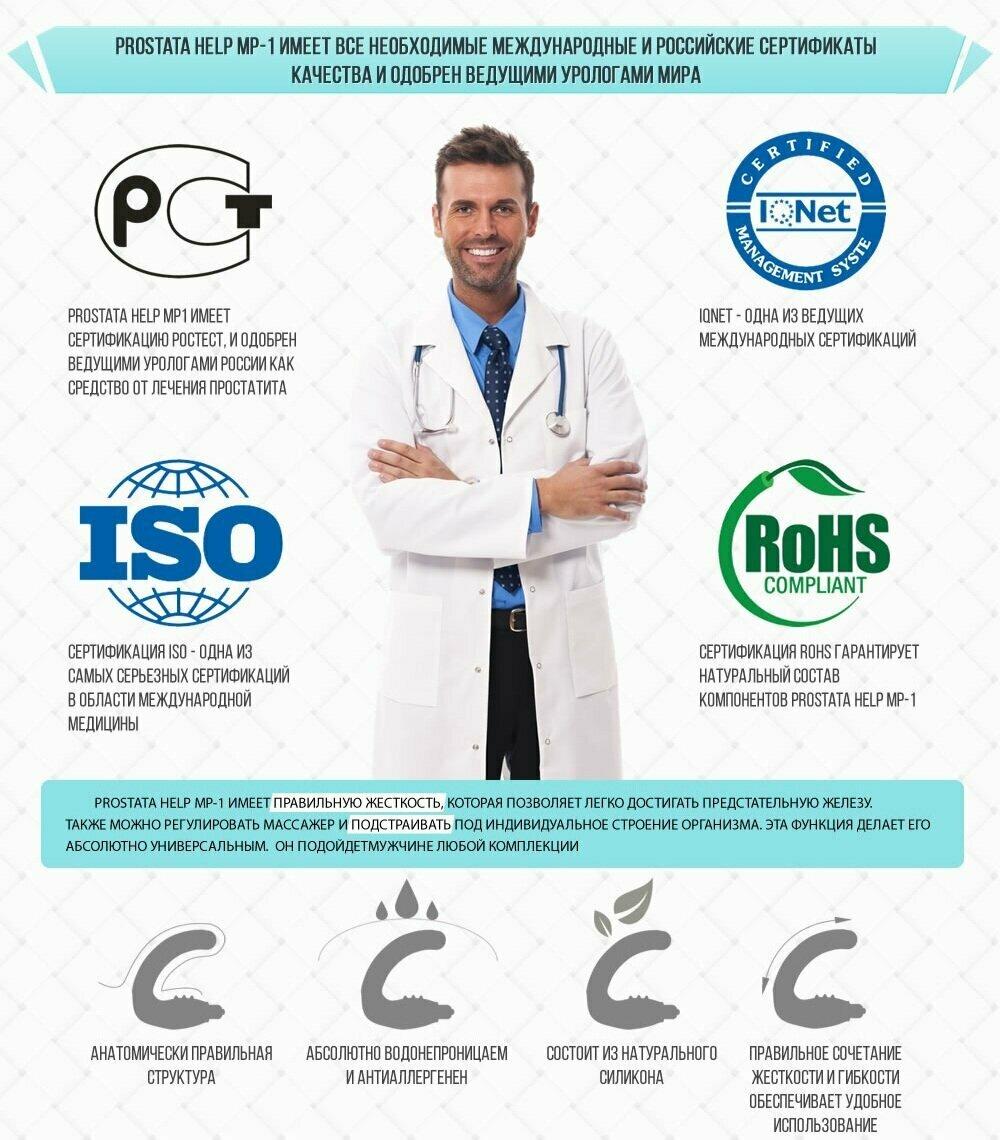 Prostata help MP-1 от простатита в Ишиме