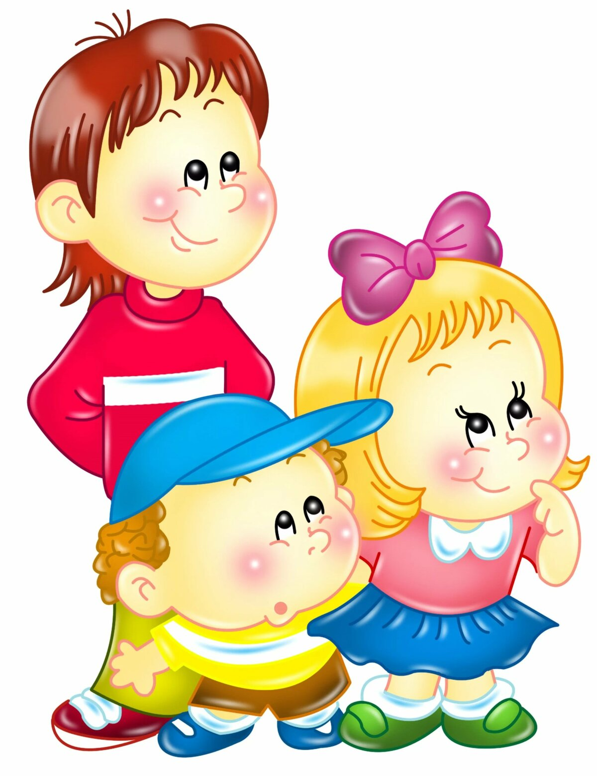 Картинка детская в детском саду