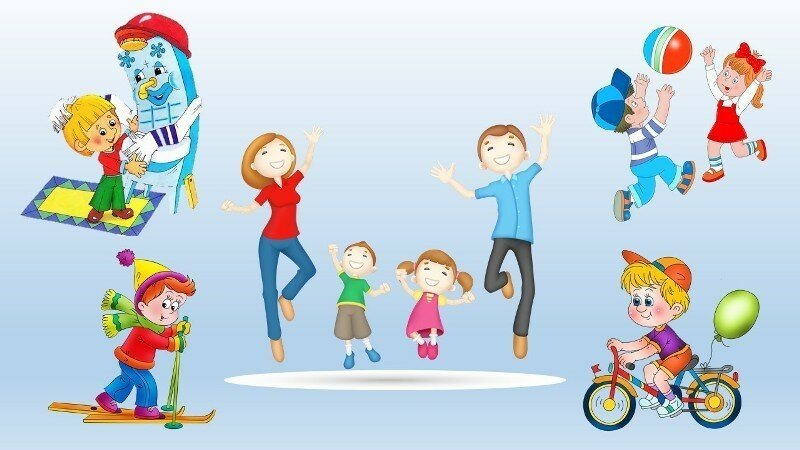 Картинки о спорте в детский сад
