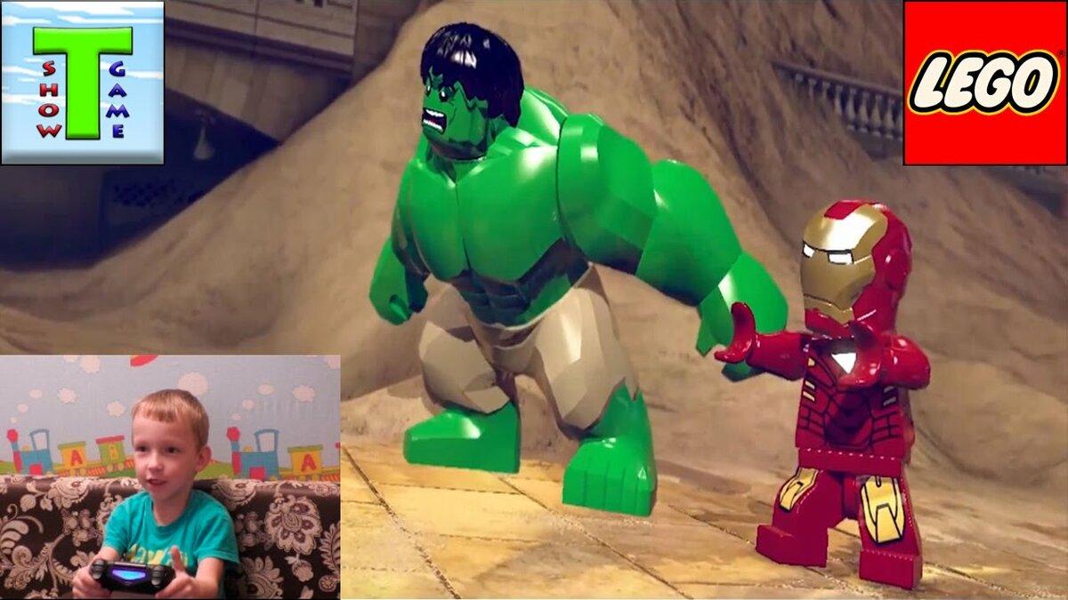 Картинки лего железный человек и халк союз героев