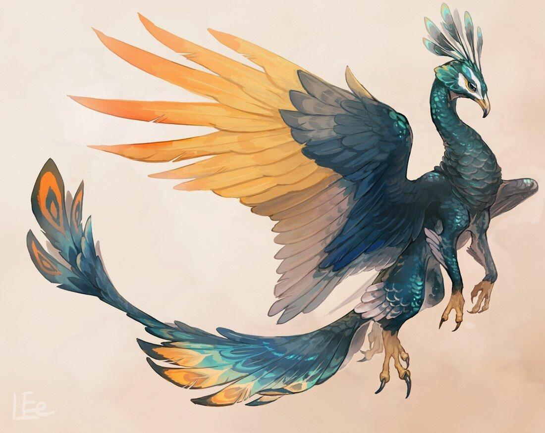 фантастические птицы арт кухне может
