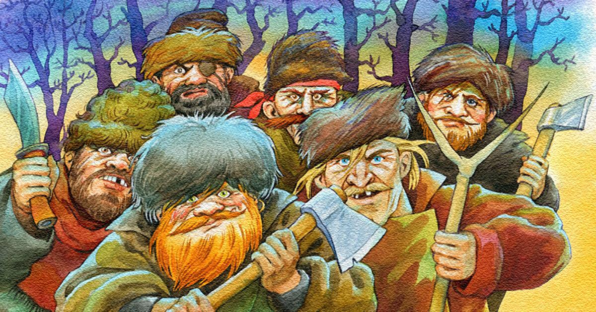 Картинки разбойников для детей
