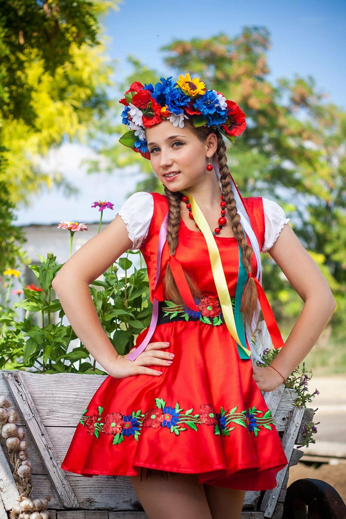 украинский наряд картинка созданием