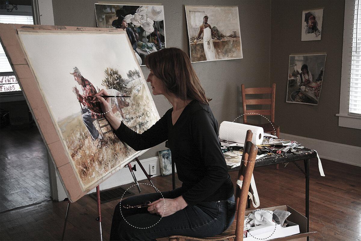 Днем, картинки художникам