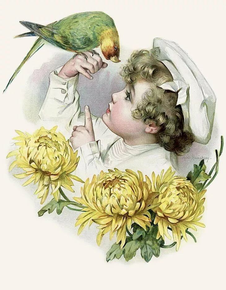 Поздравительные для, открытки для декупажа дети
