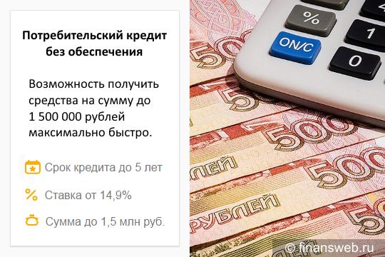 Сбербанк кредитный калькулятор потребительский кредит по зарплатной карте процентная ставка