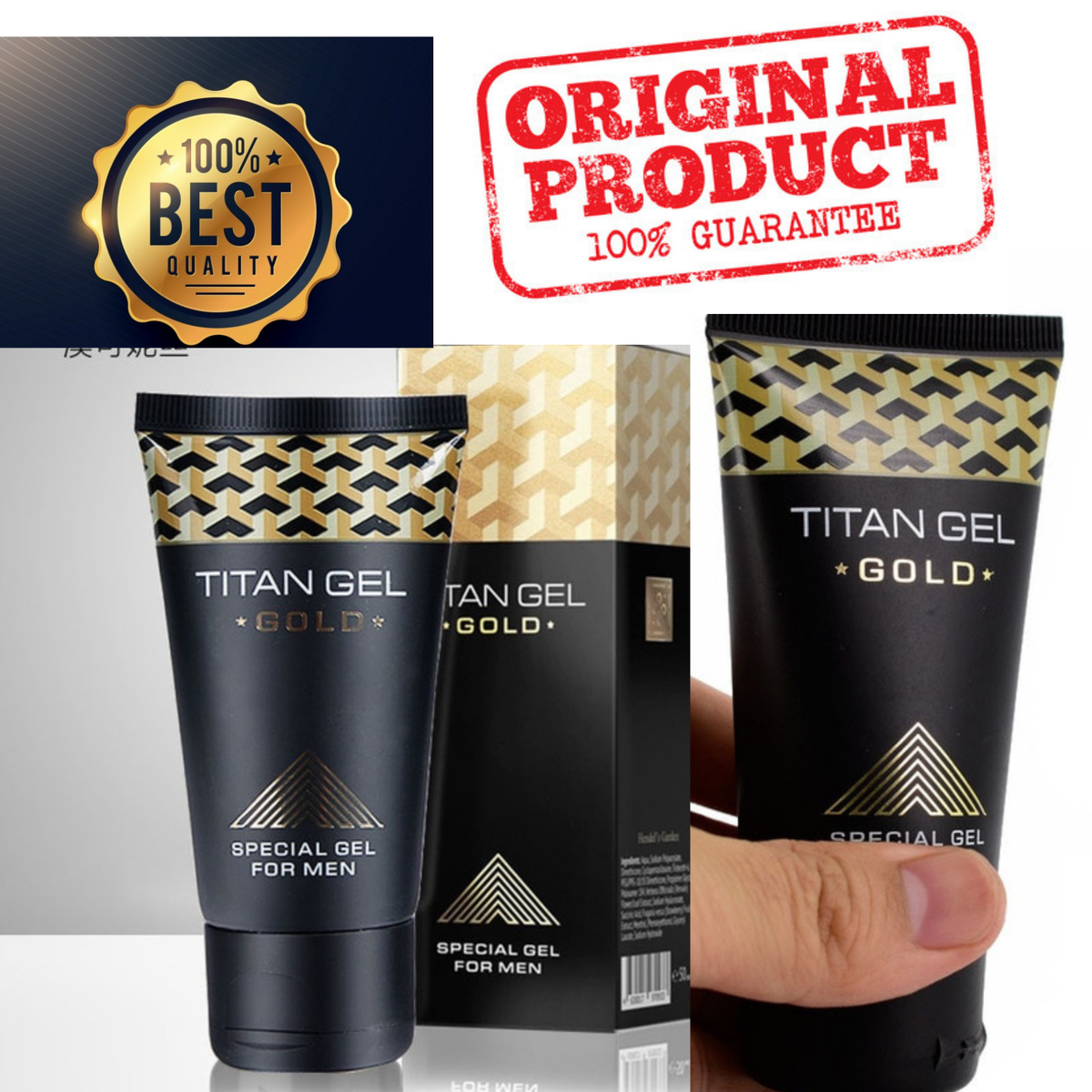Titan Gel Gold - мужской крем в Краматорске