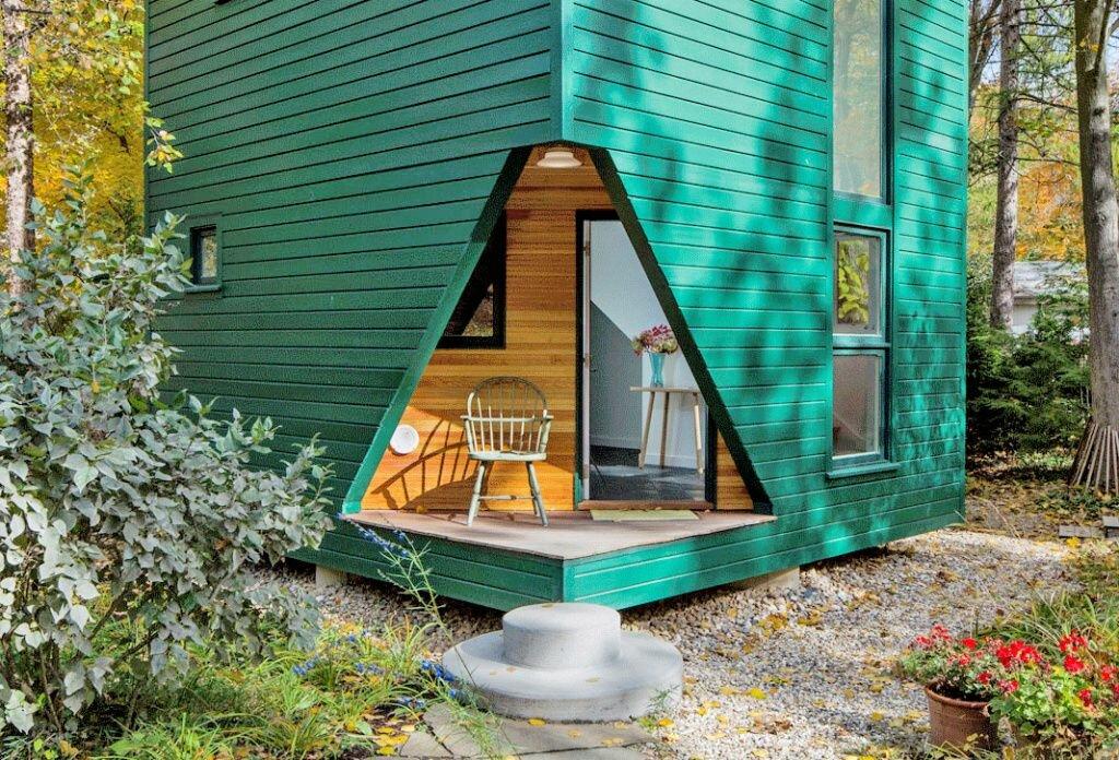 фото проектов красивых и необычных дачных домов вилочный погрузчик