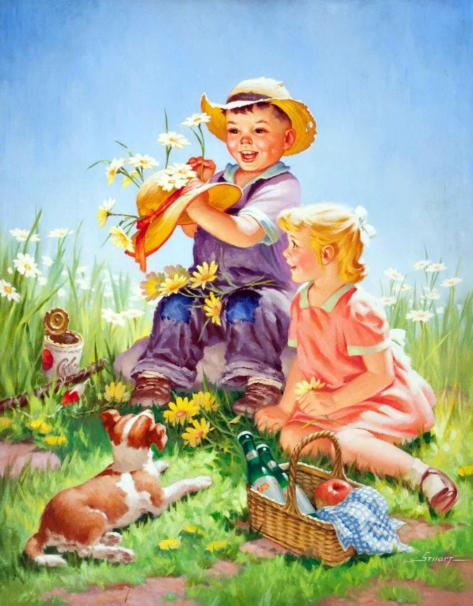 Днем, мы собирали открытки в детстве