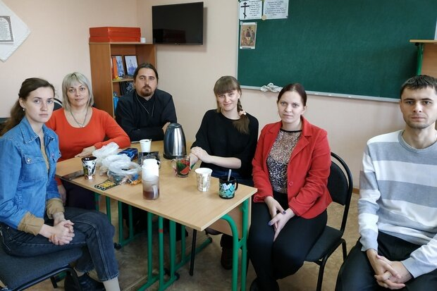 Отчётно-выборное собрание актива Алчевской молодёжки
