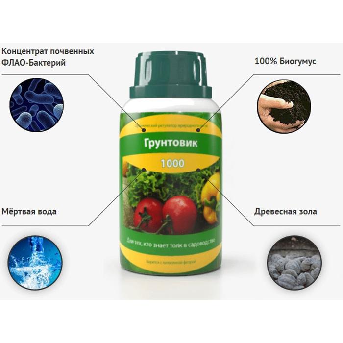Биоудобрение Грунтовик-1000
