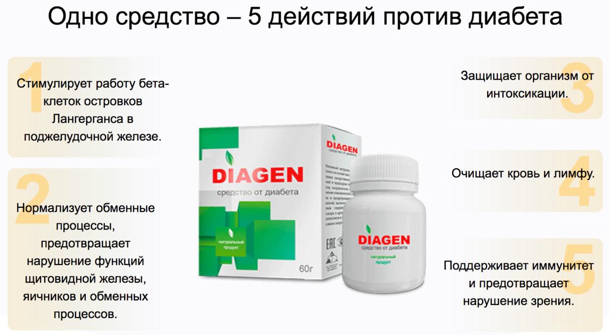 Diagen от диабета в Ульяновске