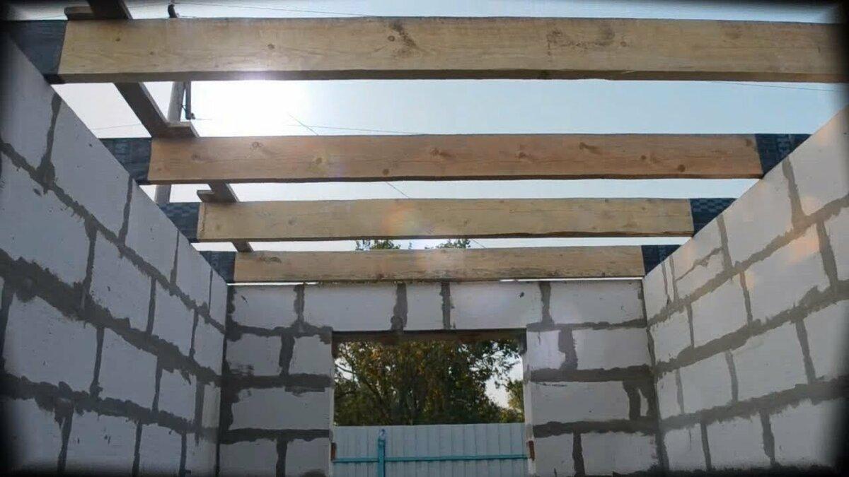 потолок на газобетоне