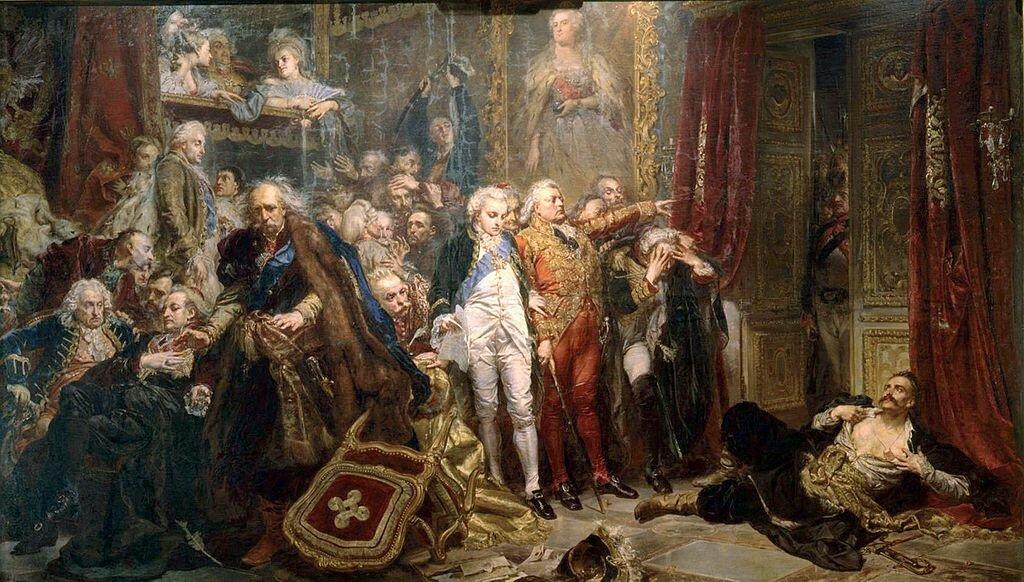 5 августа 1772 года состоялся первый раздел Польши