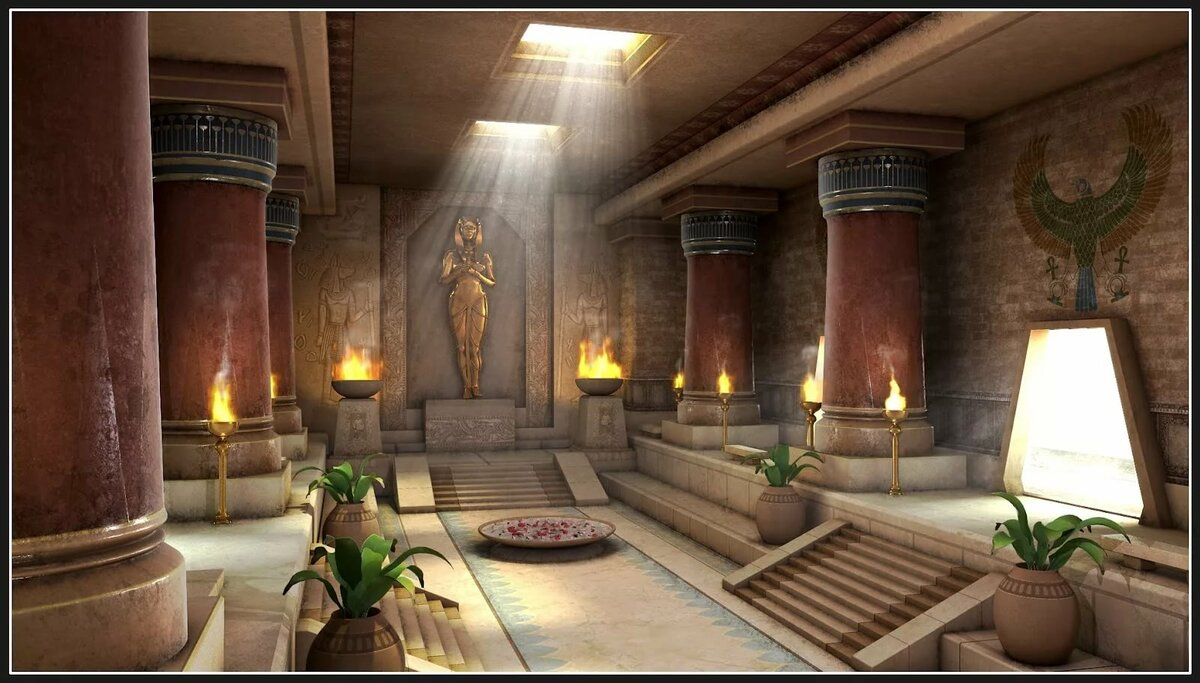 Дворец фараона картинка