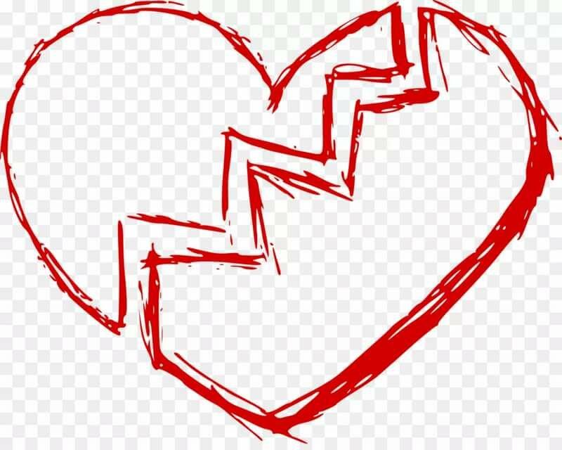 картинки как нарисовать разбитое сердце правда