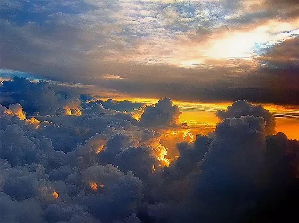 Как сфотографировать облака над головой