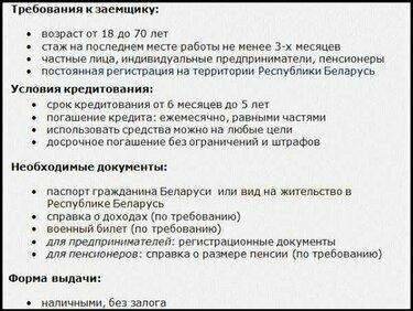 кредит ип в беларуси где можно взять кредит кроме банков