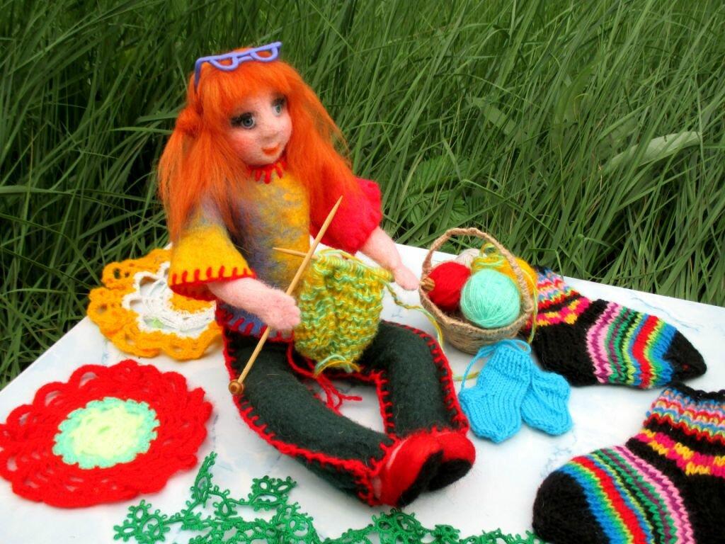 Картинки день вязания крючком