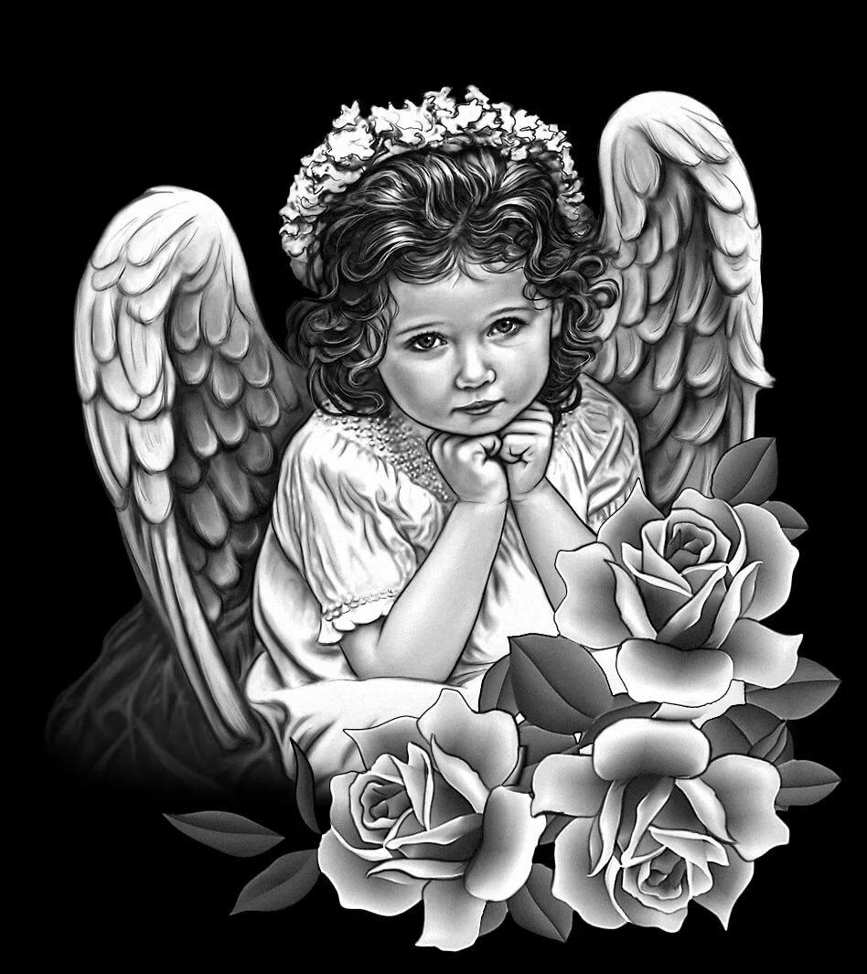 Картинки ангелов на памятниках