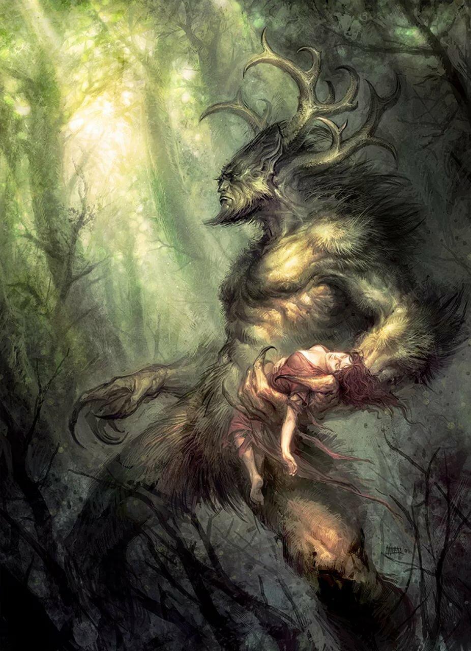 Картинки мифов страшные