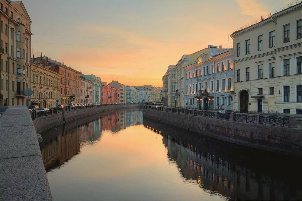 Санкт петербург белые ночи фото