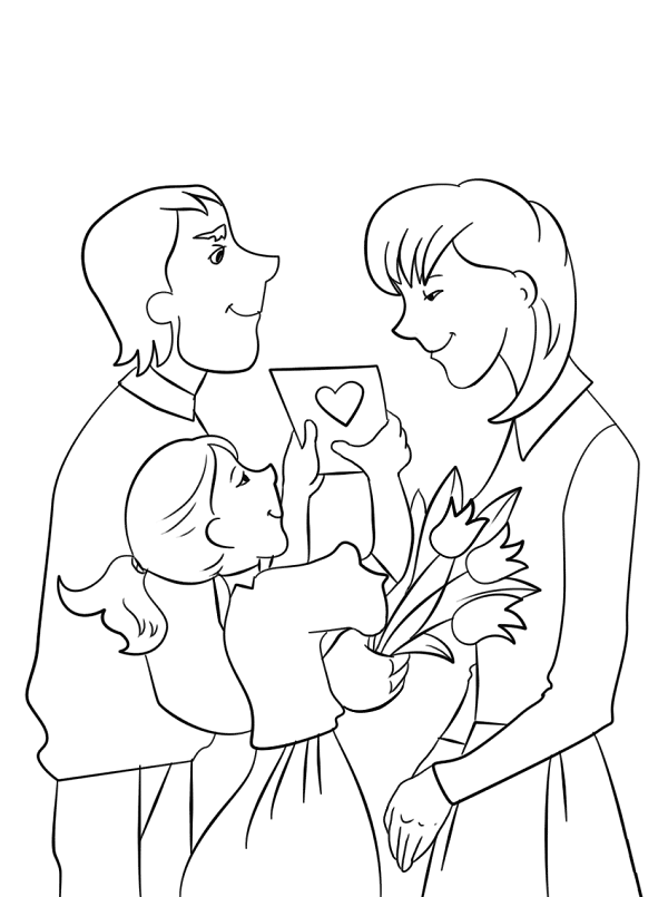 работаем подарок маме на день матери картинки рисунки это