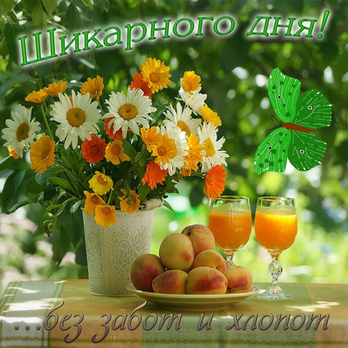 Добрый день картинки лето