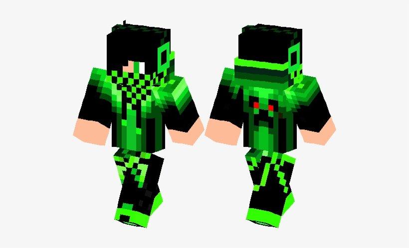 green gue майнкрафт скины #3