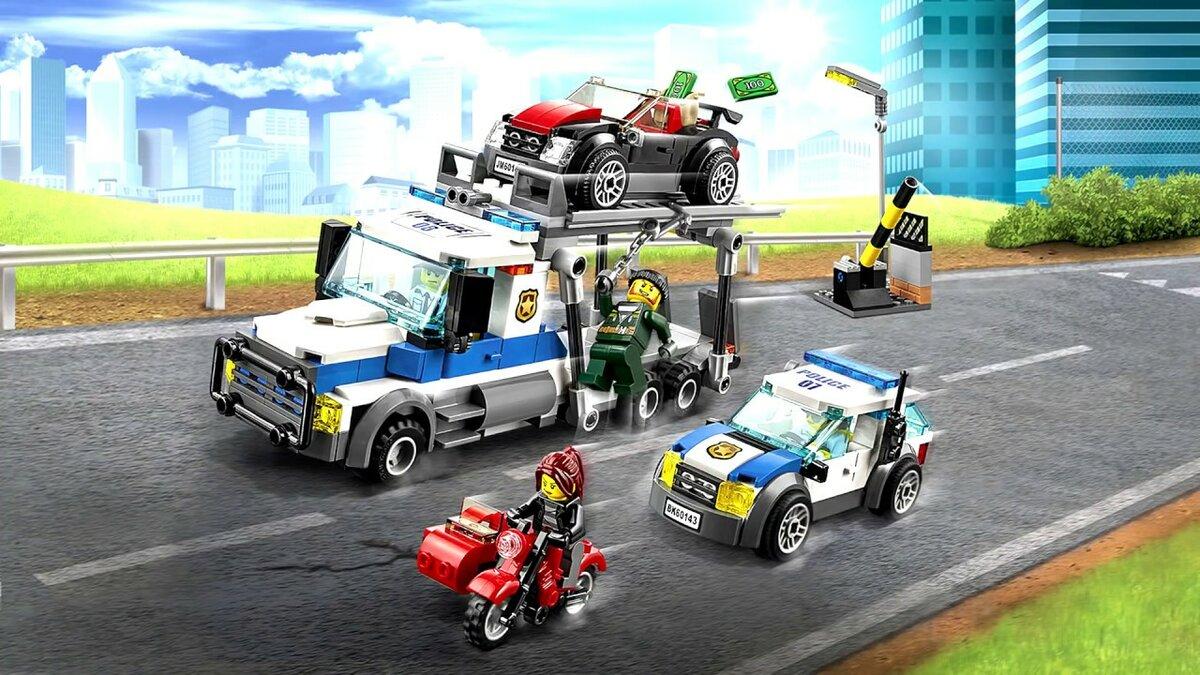 золушка картинки лего города с машинами являются
