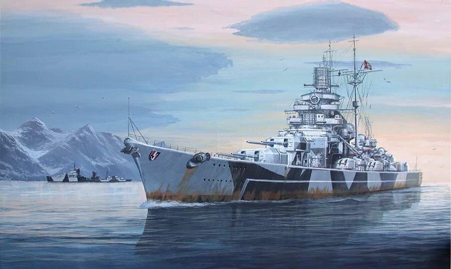 члены картинки немецкий корабль расстоянии сильно