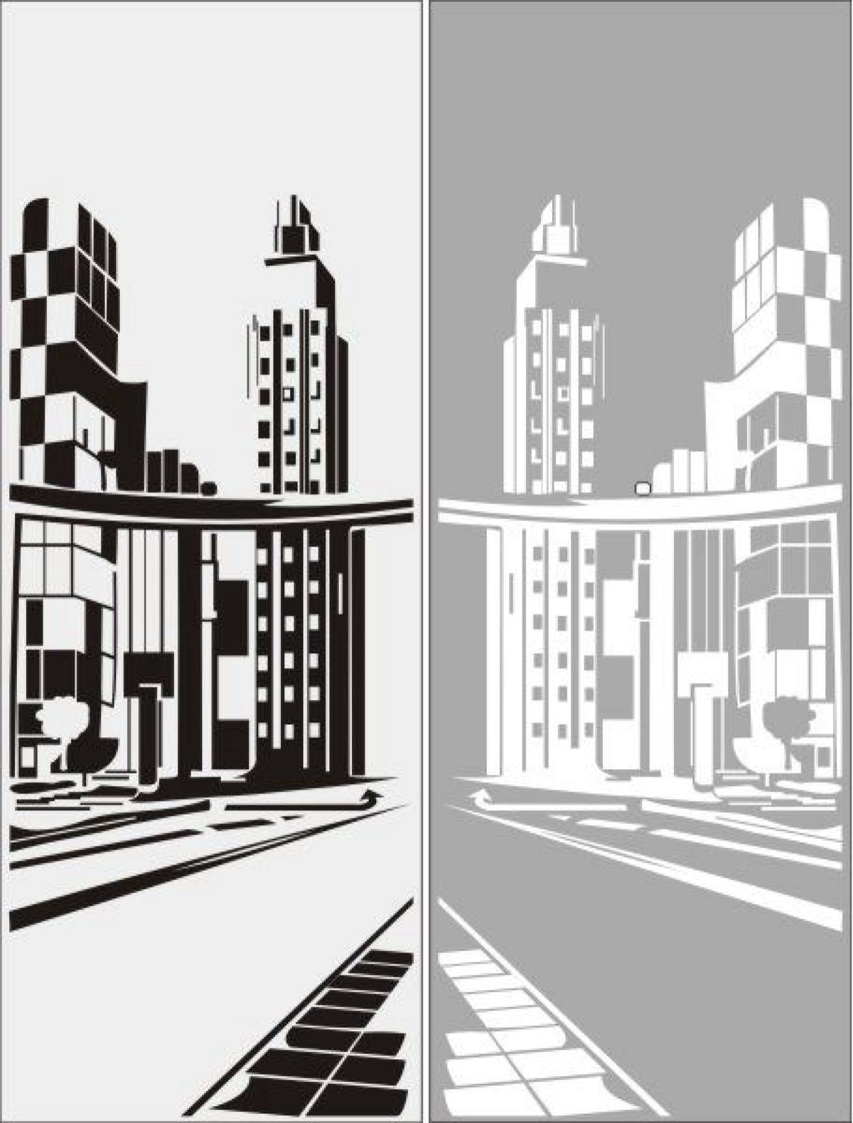 Пескоструйная обработка стекла и зеркал Города, здания, архи