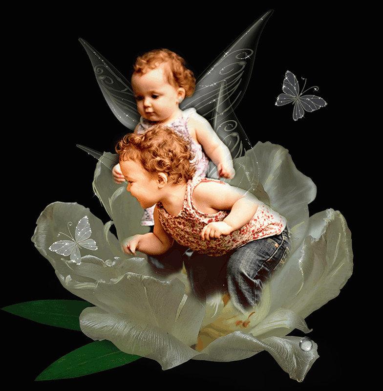Картинка блестящий ангел