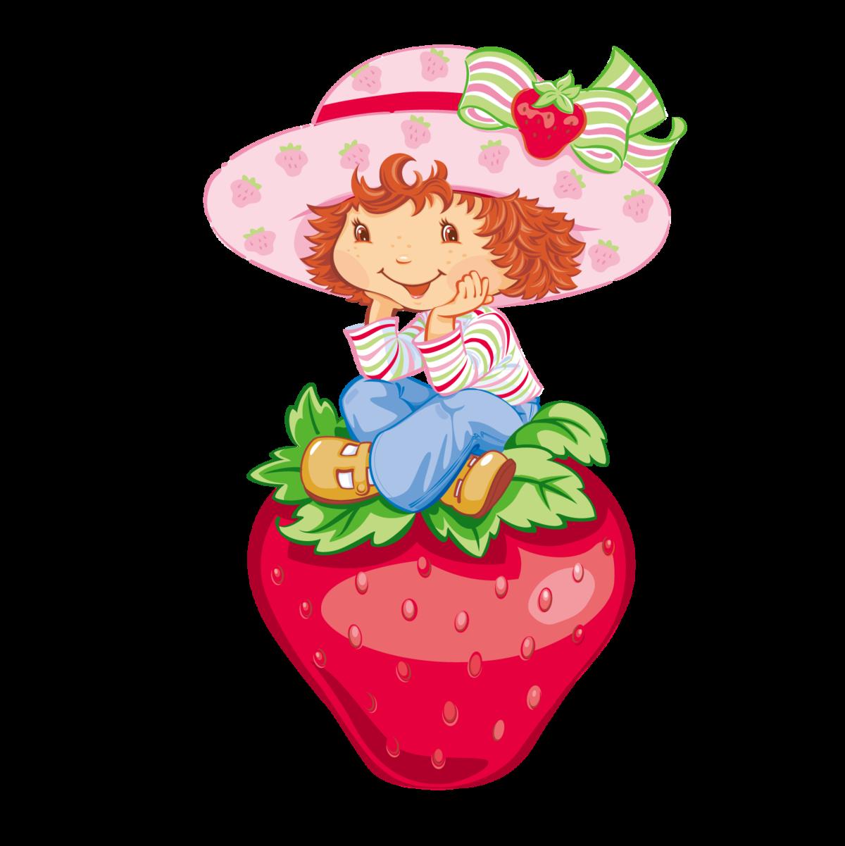 Рисунок девочка с ягодами