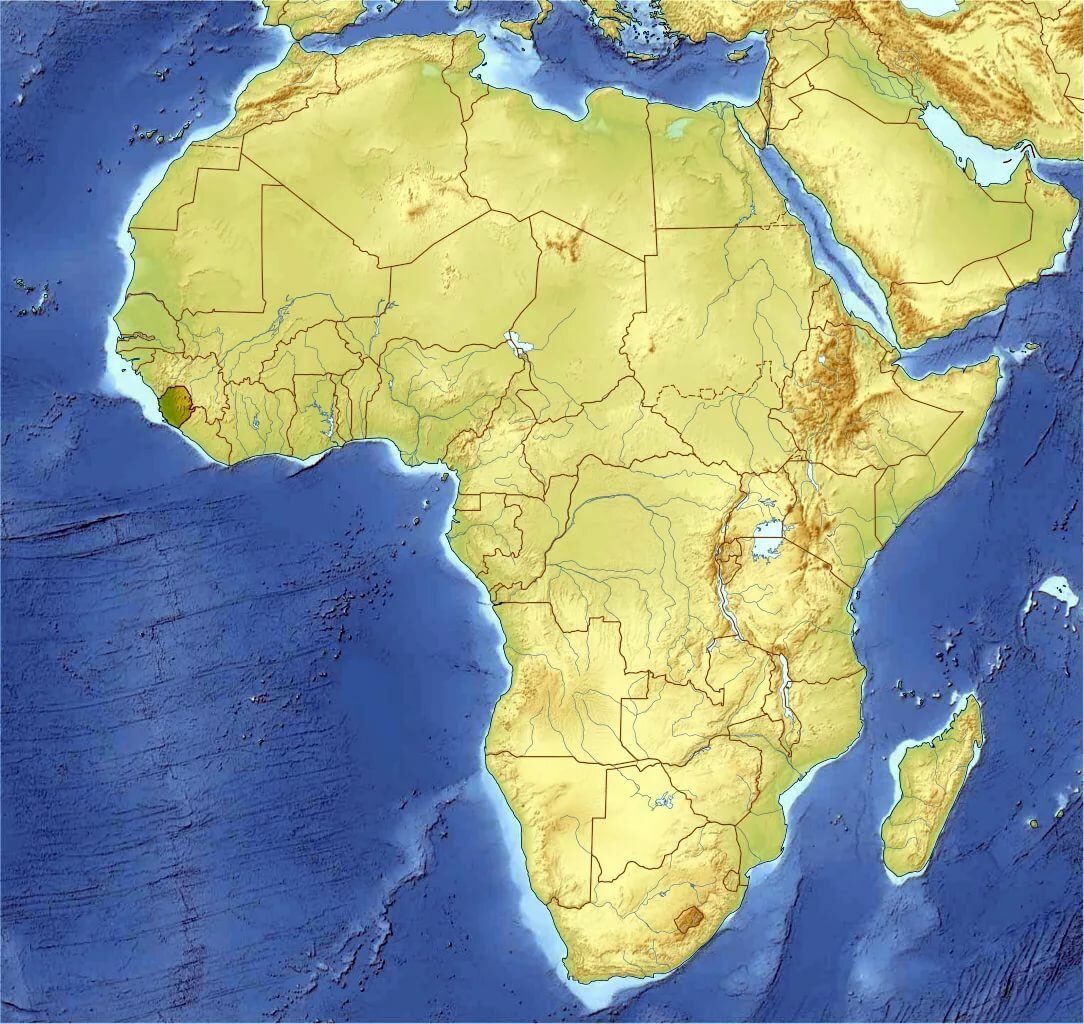 Картинки африки с странами
