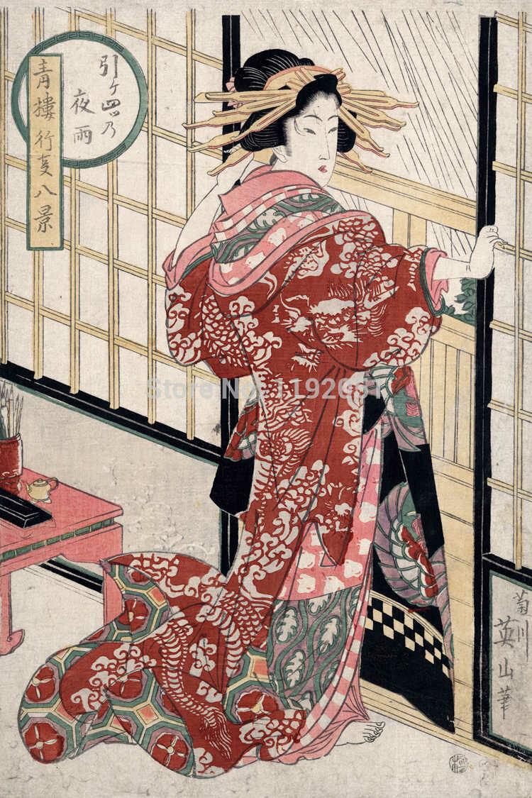 Постеры с японских гравюр