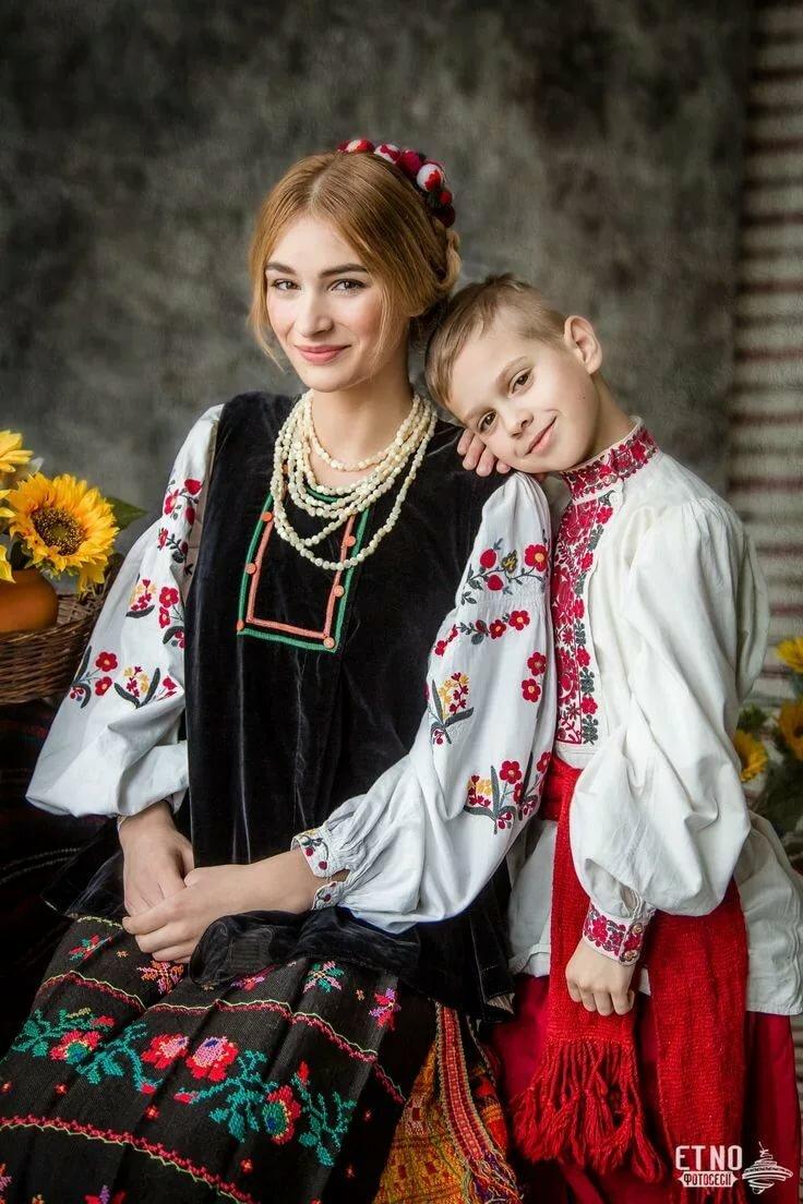 костюмы украинского народа картинки для