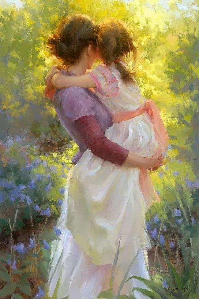 Надписями скорее, картинки мамы и дочки с любовью нарисованные с надписями
